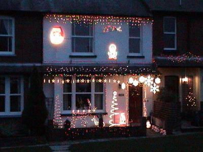 Christmas Lights in 2002